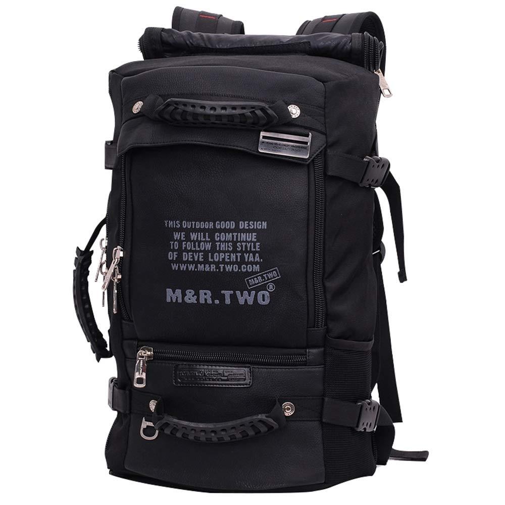 アウトドアバックパック、多機能バックパック、メンズバックパックバックパック多機能アウトドアトラベルバックパックメンズ大容量旅行登山バッグ   B07MKFJT5K