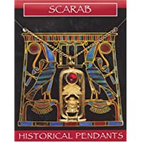 Scarab Gem Pendant Gold Plated Necklace- Egyptian Jewellery