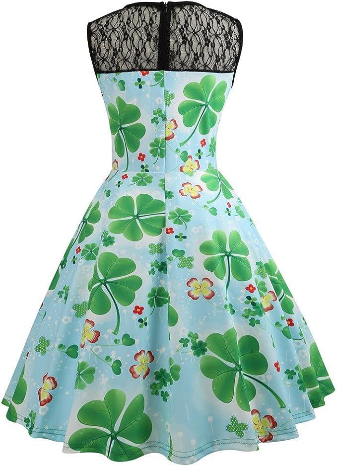 Berimaterry damska elegancka sukienka maxi, sukienka balowa, sukienka czterolistna koniczynka, sukienka koktajlowa, sukienka na imprezę, linia A, bez rękawÓw, sukienka letnia, sukienka wieczorowa, sukienka swin