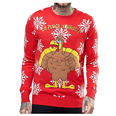 "Unisex  Mens New Novelty Christmas Jumpers /""WeAllLoveReinbeer/"" Size S-XL"