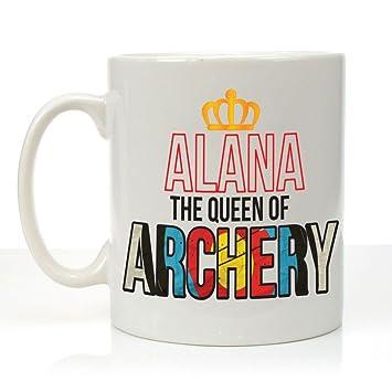 Tazza Personalizzata con la Regina del tiro con l\' Arco ...