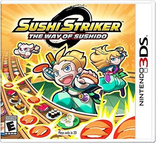 Sushi Striker: The Way of The Sushido - Nintendo 3DS (Best Phone Rpg Games)