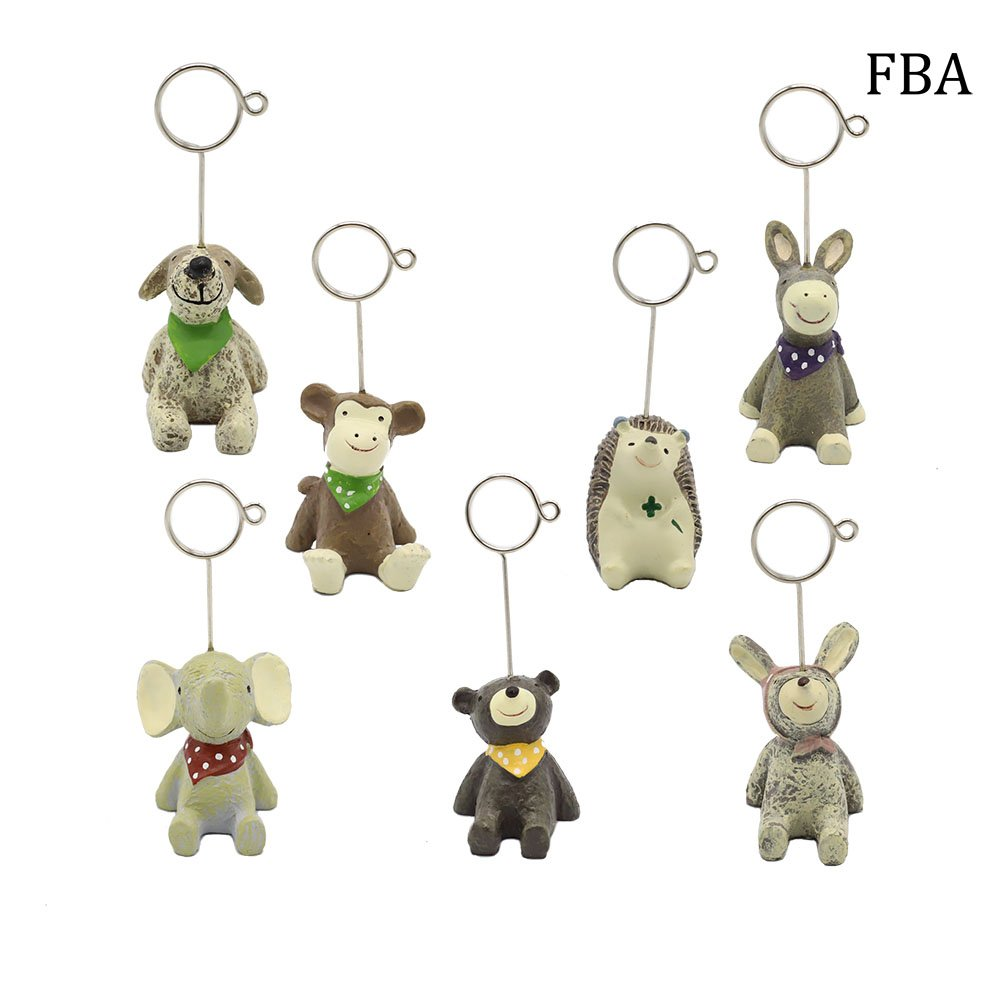 Cartoon Table Numbers Holder Place Card Holders Table Name Card Holder for Party Wedding