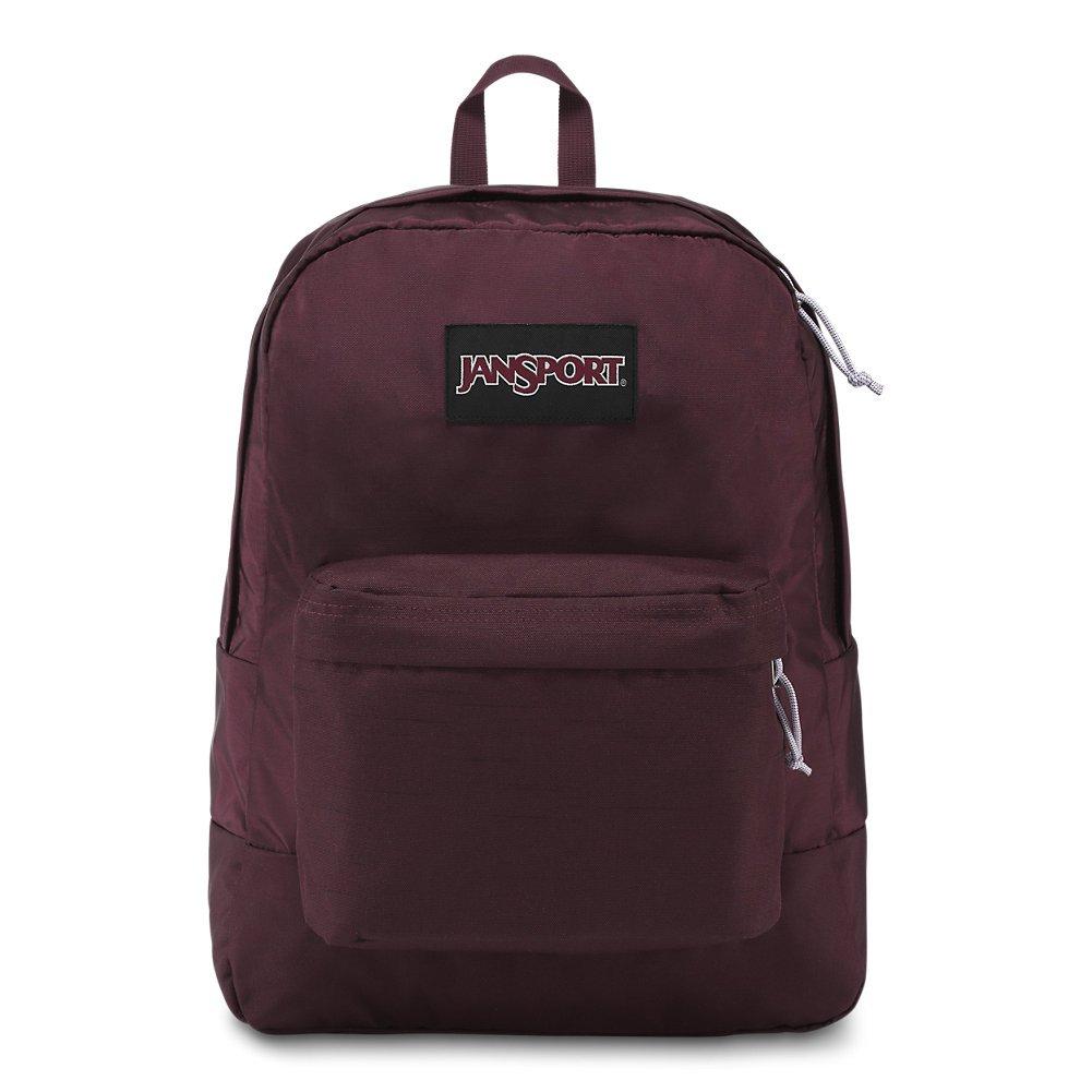 JanSport Black Label Superbreak Backpack - Dried Fig - Classic, Ultralight