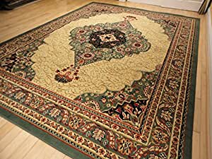 New green persian area rug 2x3 green rug - Small area rugs for living room ...