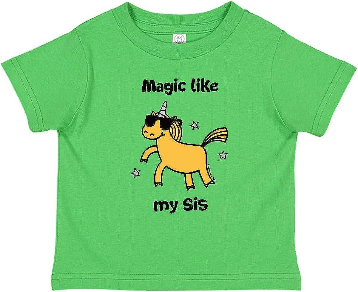inktastic Most Magical Big Sister Cute Unicorn Long Sleeve Creeper