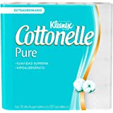 Kleenex Cottonelle Pure Papel Higiénico, Paquete Con 32 Rollos De 220 Hojas Dobles