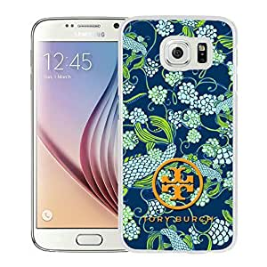 Fahionable Custom Designed Samsung Galaxy S6 Cover Case With Tory Burch 33 White Phone Case