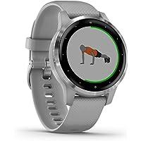 Garmin Vívoactive 4S - Reloj Inteligente con GPS y Funciones de Control de la Salud Durante Todo el día, Color Gris…