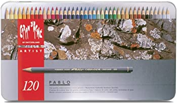 Caran d'Ache Pablo 120 Colored Pencil Set