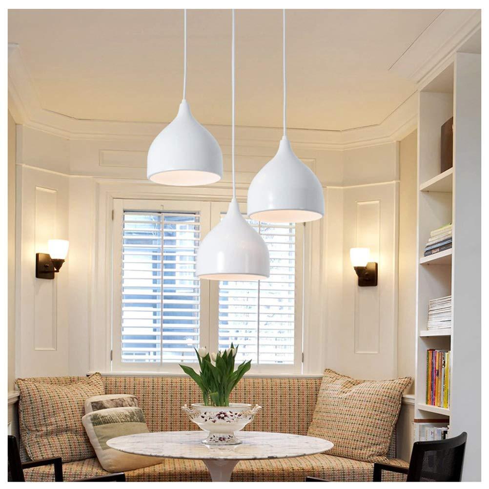 MWG Kronleuchter Led Pendelleuchte Bar Restaurant Deckenbeleuchtung Modernen Minimalistischen Wohnzimmer Bar hängen Lampe Leuchte Innenbeleuchtung Nordic