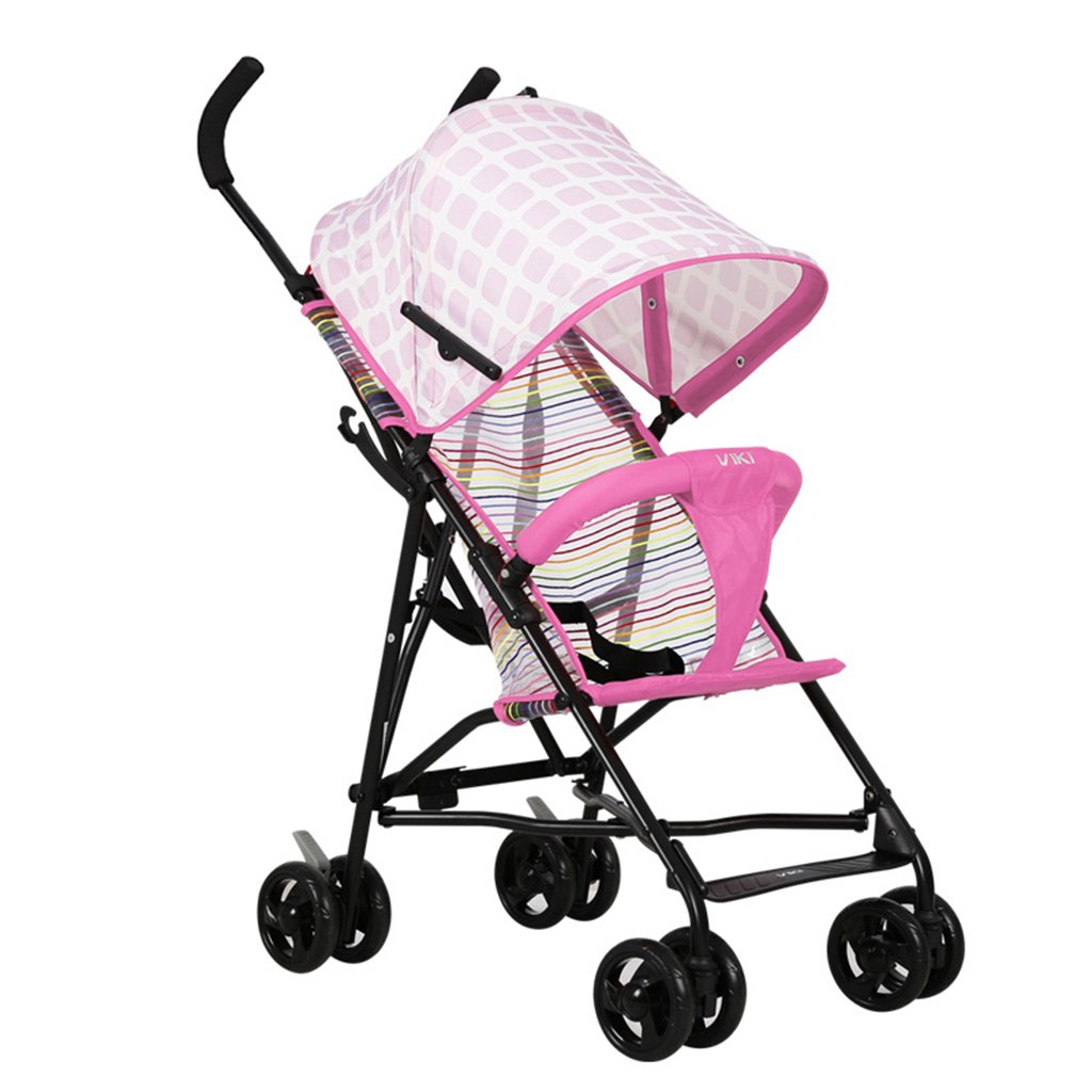 HAIZHEN マウンテンバイク ベビーカート軽量折りたたみ可能な通気性のあるネット夏の日よけの日よけの赤ちゃんキャリッジ41 * 59 * 92cm 新生児 B07DL7VYGT 2 2