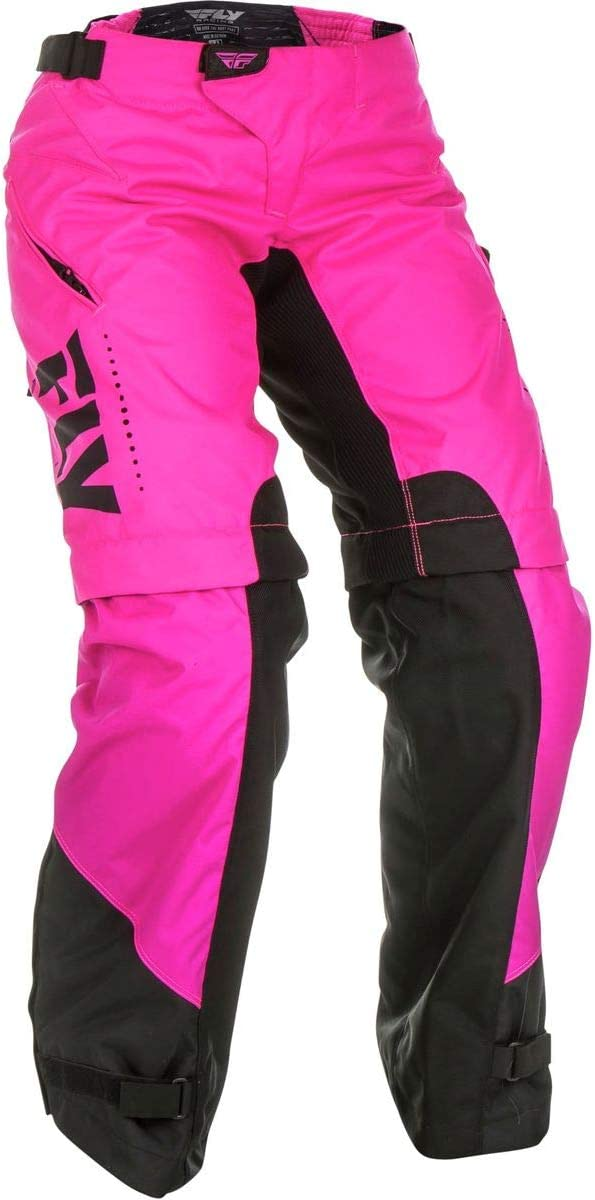 Pants Blue//Black Size 9//10 Fly Racing Womens Kinetic O.T.B