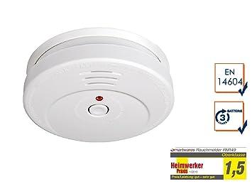 Smartwares 10.046.68 Detector de Humo: Amazon.es: Bricolaje y herramientas