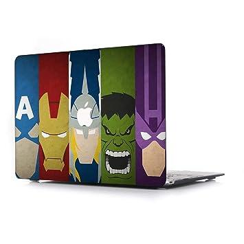 Amazon.com: Carcasa rígida de plástico para MacBook Air de ...