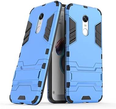 GOGME Funda para Xiaomi Redmi 5 Plus, Soporte Plegable Case, Azul ...