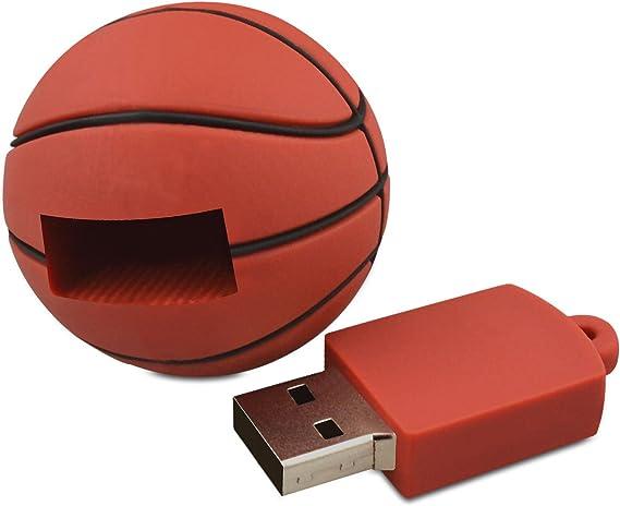 818-Shop No6900080008 Memorias USB baloncesto 3D (8 GB), color ...