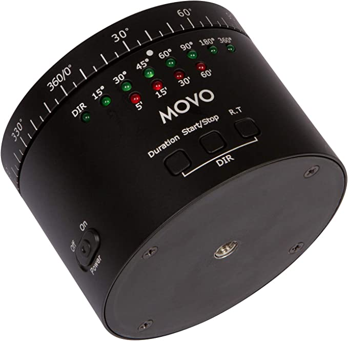 Movo Photo Mtp 11 Motorisiertes Zeitraffer Stativ Mit Kamera