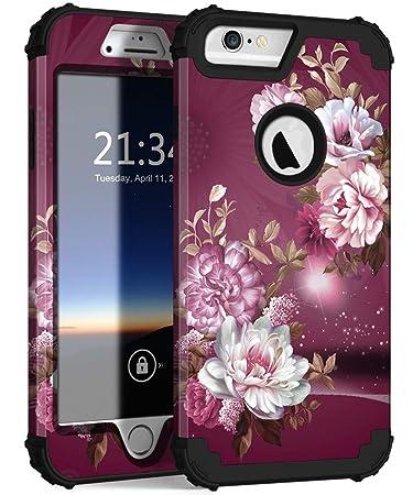 Amazon.com: Hocase - Carcasa para iPhone 6s Plus, protección ...