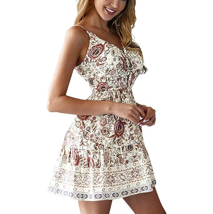 Amazoncom Hypothesis Boho Mini Dress For Women Lace