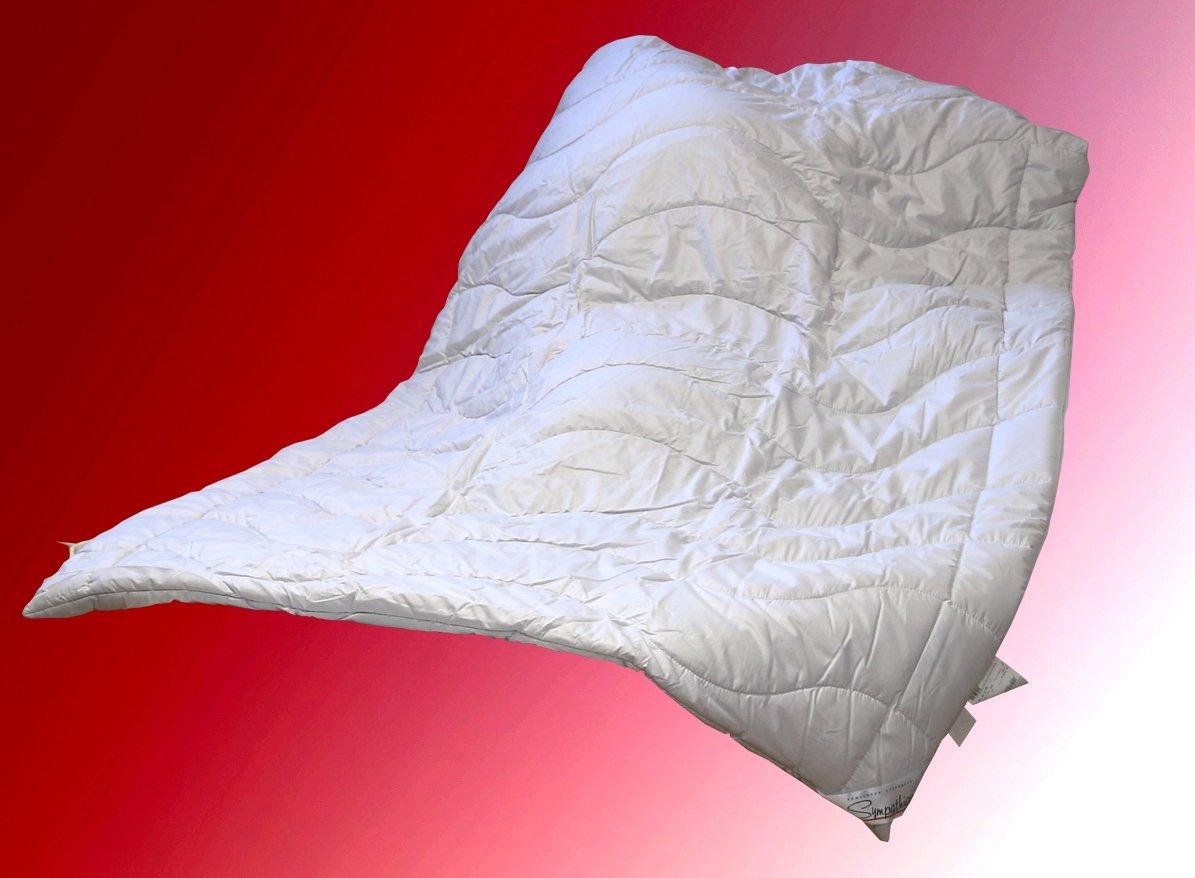 Edles Kamelhaar  Duo Steppbett 155x220 cm 100/% Kamelhaar Winterdecke Bettdecke