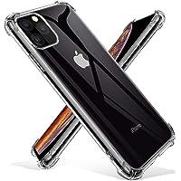 Joyguard Coque iPhone 11 Pro Max 2019, iPhone 11 Pro Max Coque Souple TPU Silicone [Transparente comme Cristal] AIR Cushion Protection Coin Housse iPhone 11 Pro Max - 6.5pouces - Transparent