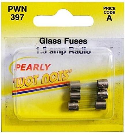 Pearl PWN397/Fusibles para Radio//TV 1,5/A