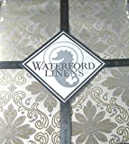 Waterford Elegant Tablecloth - Cristina -Silver/Gold 70 x 104 Oblong