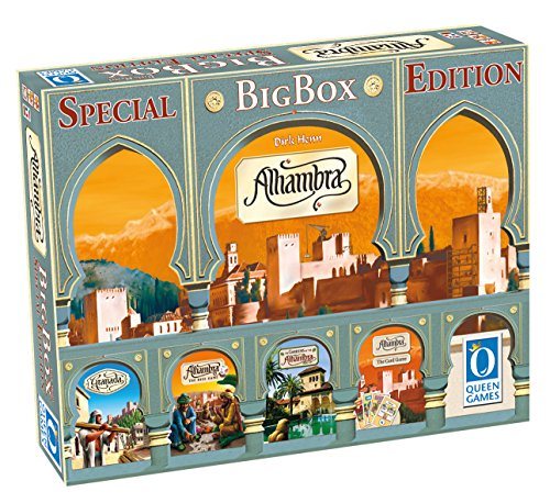 Queen Games Alhambra Special Edition Big Box Board Game