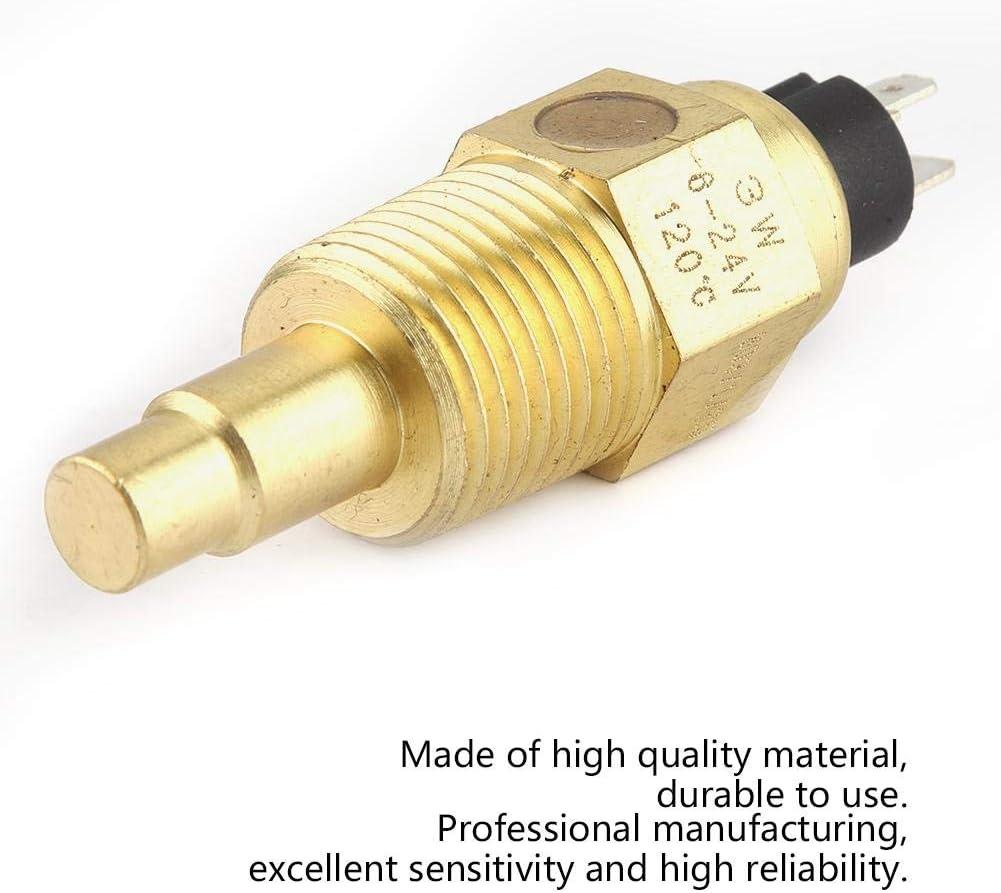 38℃~120℃ 1//2NPT Water VDO Temperature Sensor High Reliability for Oil Water Temperature Temp Gauge 1PC Water Temperature Sensor