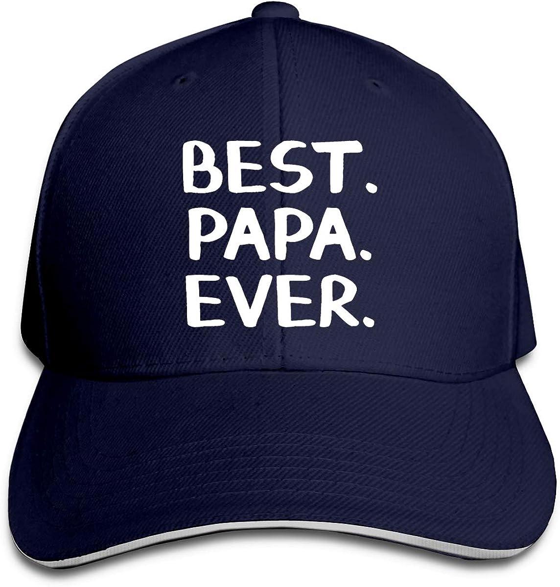 Best Papa Ever Dad Hat Adjustable Casquette Cap