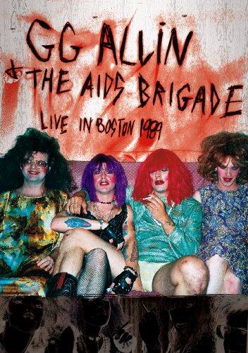 Allin, GG - Live In Boston 1989 (Allin Gg Dvd)