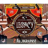 $244 » 2021 Panini Legacy NFL Football HOBBY box (16 pks/bx)