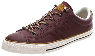 Converse Star Player Ox Shoe - Deep Bordeaux 149793C (UK12)  Amazon ... 42f6af75a
