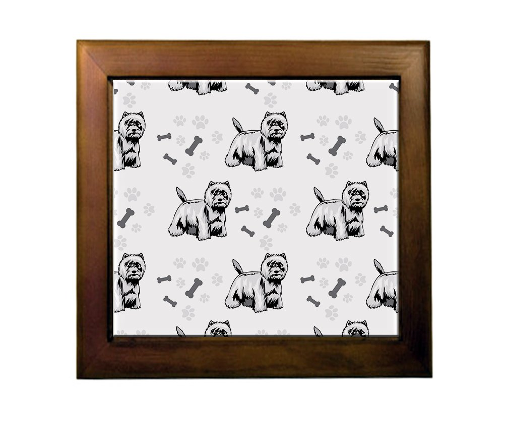 80%OFF West Highland White Terrier Dog Breed Ceramic Tile Backsplash Accent Mural