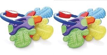 Nuby Ice Gel Teether Keys *New*