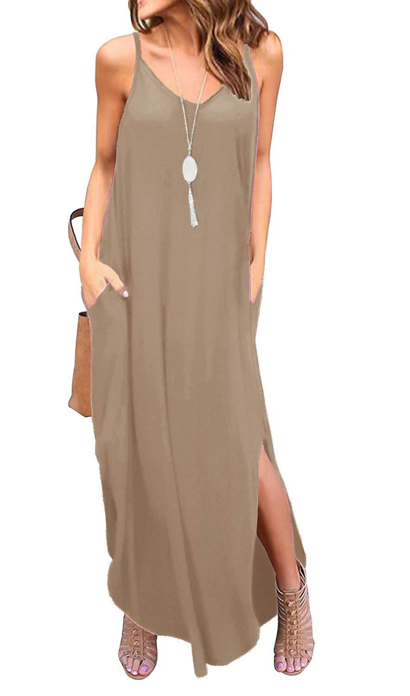 Summer Casual Loose Dress Beach Cover