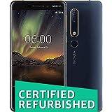 (CERTIFIED REFURBISHED) Nokia 6.1 Blue+Gold 4gb 64gb