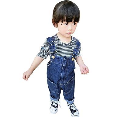 86ffb4d6db92 CHIC-CHIC Baby Toddler Girls Kids Dungarees Denim Jeans Bib Overalls ...
