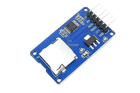 Módulo de tarjeta micro SD SPI Rampas de lectura Arduino TF ...