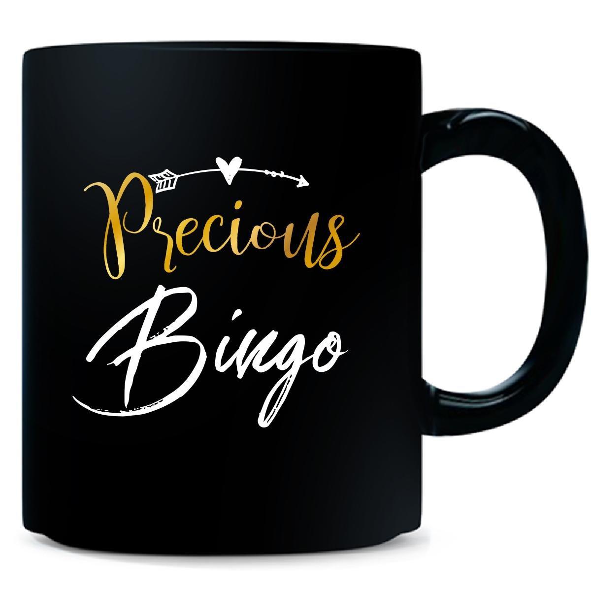Precious Bingo Name Mothers Day Present Grandma - Mug by My Family Tee