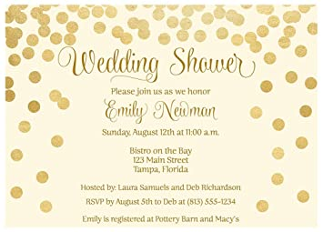 Brunch And Bubbly Wedding Shower Invitations Confetti Bridal Party Invites Rehearsal Dinner