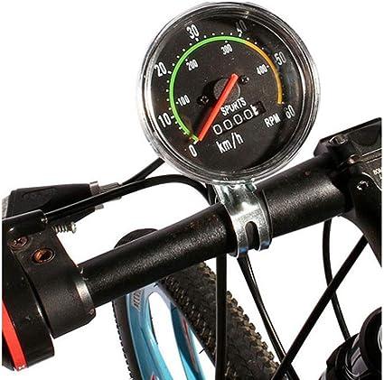 Rehomy Fahrrad Computer Tacho Mechanische Fahrrad Kilometerz/ähler Fahrrad Stoppuhr Cyclocomputer