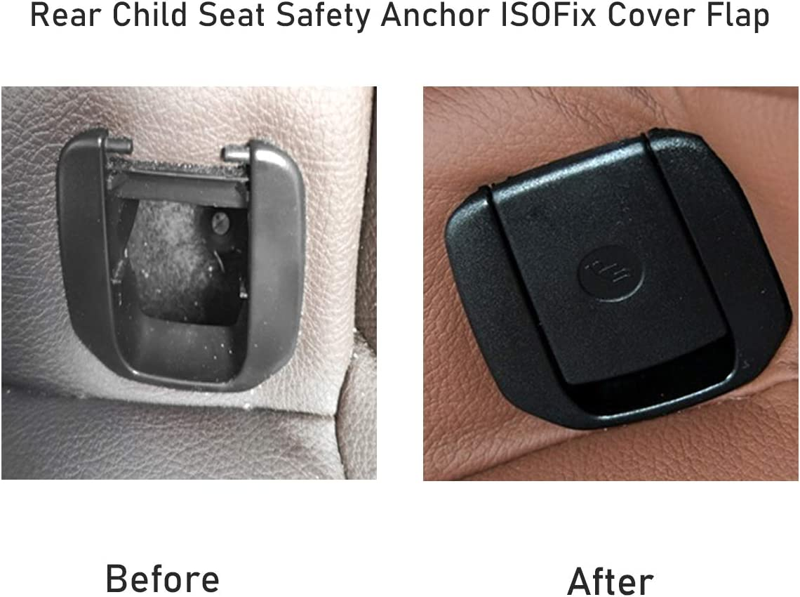 NewYall Rear Child Seat Safety Belt Anchor Cover