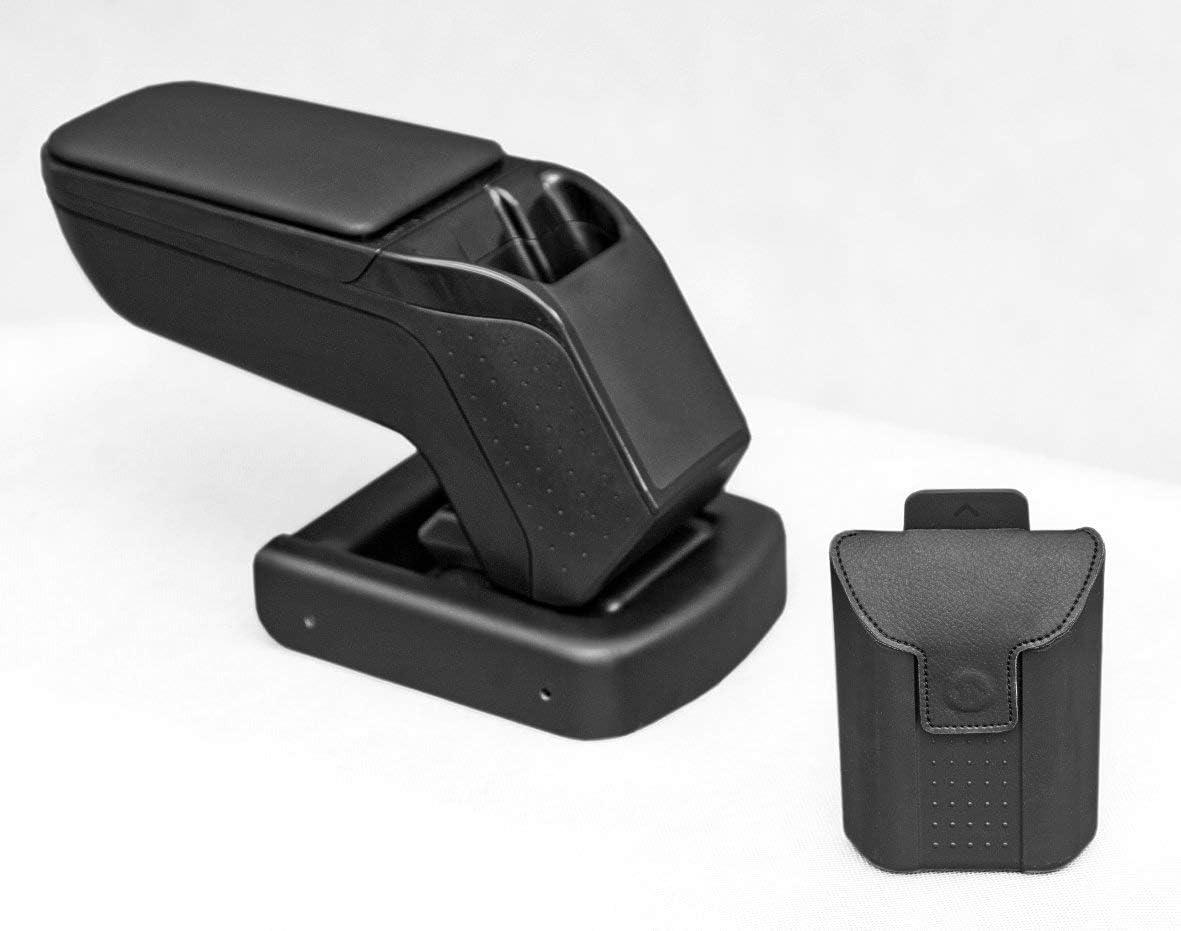 2018- Armster V01007 ACCOUDOIR Central Noir Voiture SP/ÉCIFIQUE Seat Arona avec Compartiments ET Rabattable