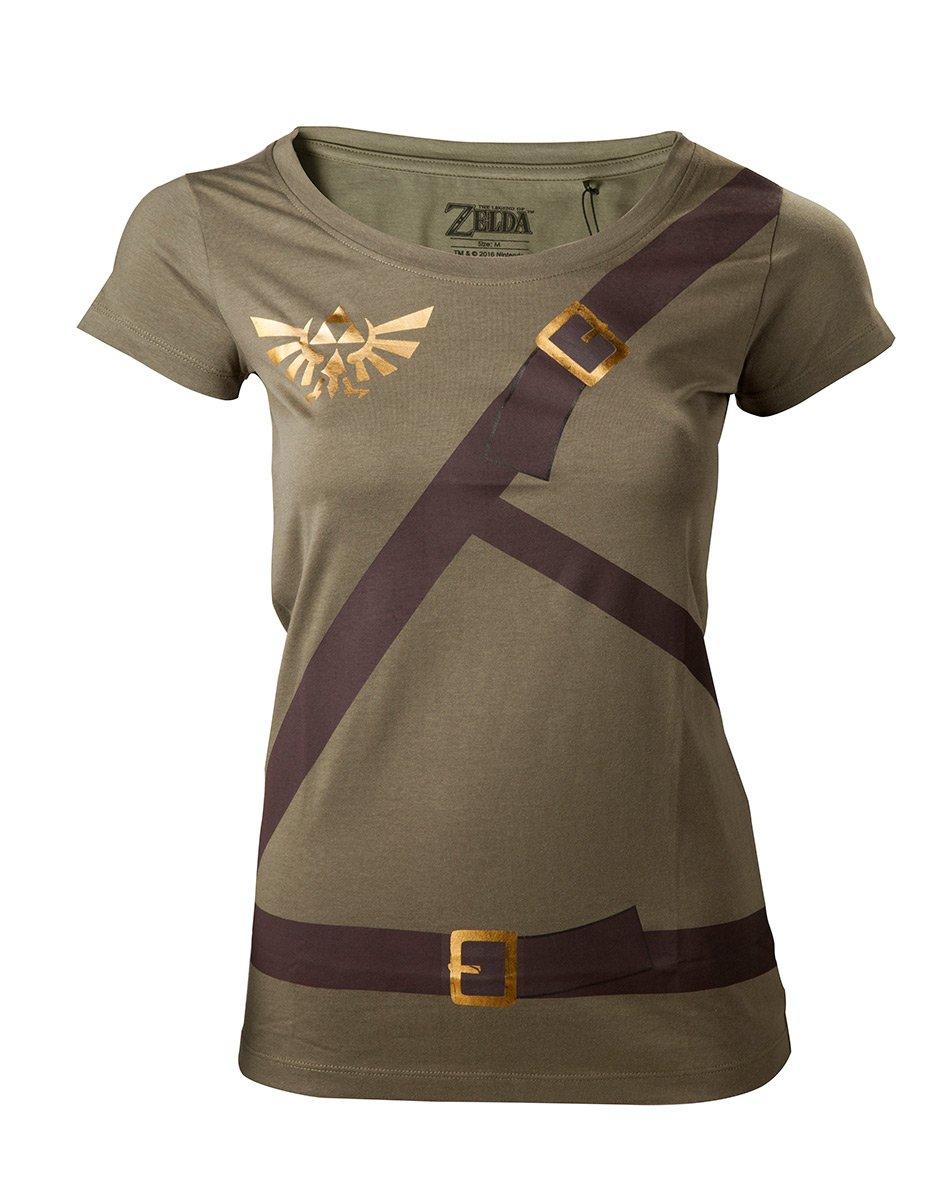 The Legend of Zelda–Link Belt Women 's–Camiseta Maat M