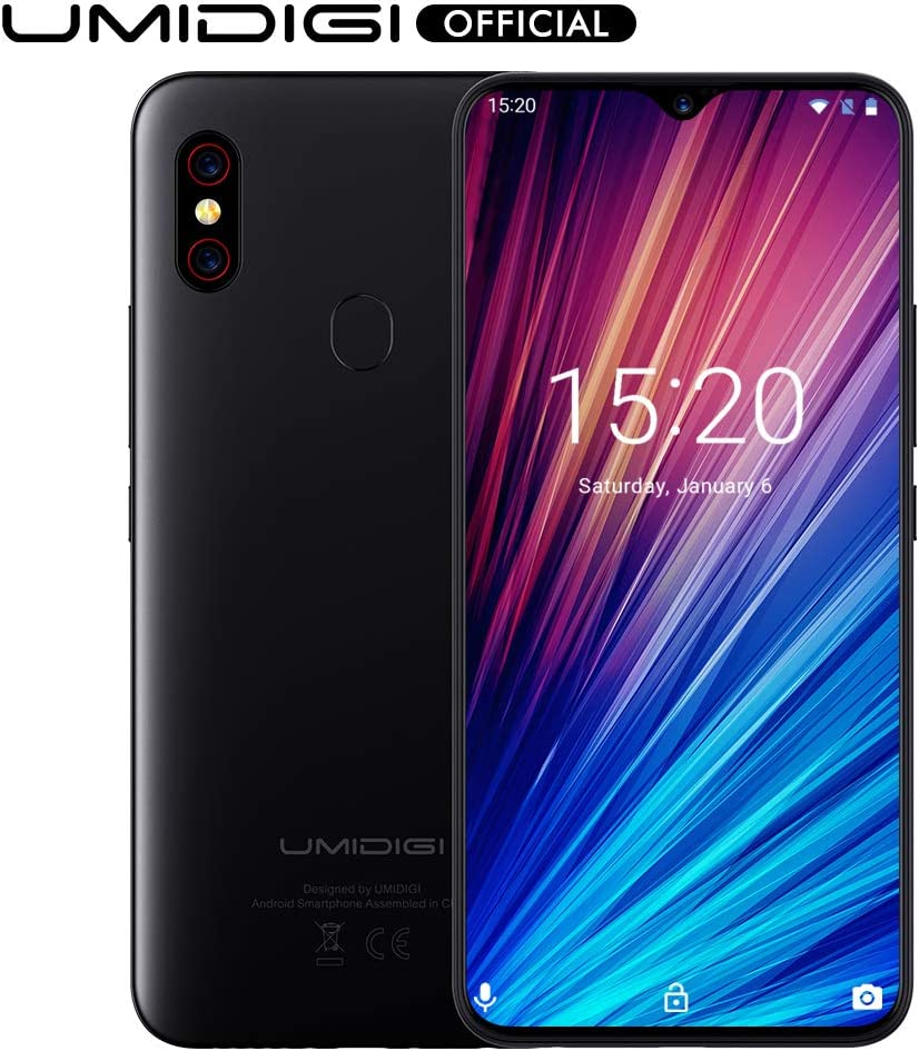 Amazon Com Umidigi F1 Play With 6gb 64gb Memory Android 9 0 48mp 8mp 16mp Cameras 5150mah 6 3 Fhd Global Version Smartphone Dual 4g Lte Cell Phone Unlocked Black