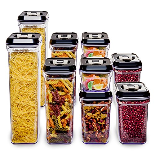 10 piece food storage containers - 2