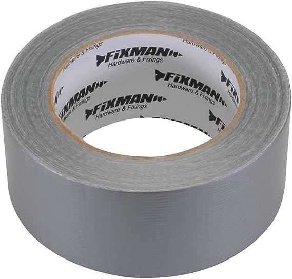 Fixman 188845 Heavy Duty Black Duct Tape 50mm x 50m