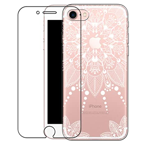iphone 8 coque silicone blanche
